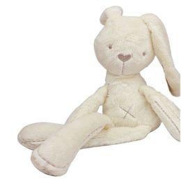 Wholesale Mini Plush Bunnies - Cute Bunny Baby Soft Plush Toys Mini Stuffed Animals Kids Baby Toys Smooth Obedient Sleeping Rabbit Doll