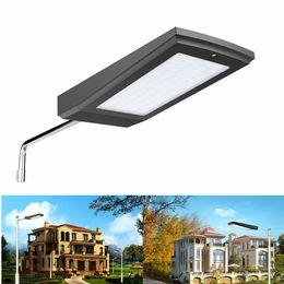 Wholesale Stainless Bright Garden Lights - Super Bright Solar garden light 108led 15w Waterproof IP65 LED Street lights Radar Motion Sensor Solar powered wall lamp