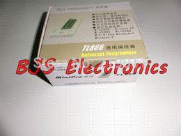 Wholesale Usb Gal Programmer - TL866A USB Universal Minipro Programmer EEPROM FLASH 8051 AVR MCU GAL PIC SPI 9PCS adapters+Test clip+25 SPI Flash adapter
