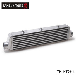 Wholesale Honda Intercooler - TANSKY -NEW H G 550x140x65mm UNIVERSAL FRONT MOUNT TURBO INTERCOOLER For Honda Civic Nissan Toyota TK-INT0011