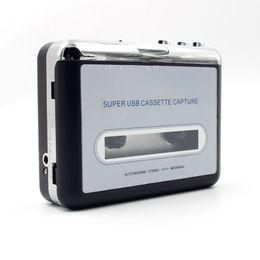 jogador de mp3 redondo Desconto Cassete de fita usb portátil original para mp3 conversor digital de captura de áudio estéreo de música