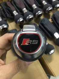 Wholesale Audi A6 Shift Knob - Car DSG RS shift knob shift lever For Audi A3 A4 A5 A6 A7 Q3 Q5 RS