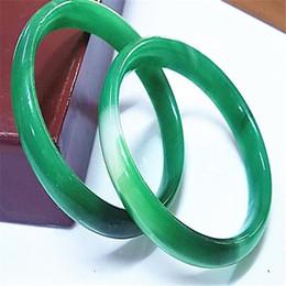 Wholesale Vintage Bracelet Green Stones - Fashion Lot Jewelry 10pcs jade green gemstone stone Vintage bracelets bangle wedding gift jewelry Bangles charm