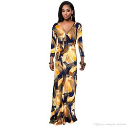 Wholesale Kimono Traditional Dress - Fashion New Fashion Design African Traditional Print Dashiki Dress African Clothing XY11 1118