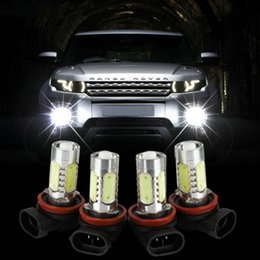 Wholesale Universal Fog Lights Hid - H11 H8 9006 H7 H4 H3 Xenon White 7.5W LED Car Fog Bulbs Light For 12V Car Vehicles