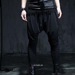 Wholesale Korean Style Harem Pants - Wholesale-2016 new casual pants tide male Korean fashion personality harem pants punk style