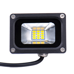 Wholesale High Efficiency Led - 10W LED Flood Light Waterproof Floodlight Landscape LED Outdoor Lighting Lawn Lamp Warm White Cold White IP65 High Luminous Efficiency
