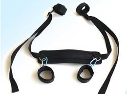 Sm möbel online-Fetisch BDSM Roleplay Handschellen Sklave Bondage Kit SM Hacker Höhepunkt alternative Spielzeuge Paar flirten Möbel Bound Beine Masturbation Sex