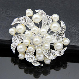 Wholesale Topaz Costume Jewelry - Burst models in Europe and America high-grade diamond brooch pin grade alloy costume jewelry manufacturers, wholesale fashion clothing