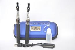 Wholesale Ego Kit Ce4 Atomizer 2pcs - new arrival CE4 Electronic e Cigarette Starter Kits E-cigarette Kits 2pcs eGo-T Battery 1100mah CE4 Atomizer