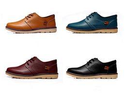 Wholesale Dress Classic Shoes Men - 2016 Dress Shoes For Men Microfiber Pu Leather Mens Business Shoes Fashion Classics Leather Shoes Male Round Toe Men Office Shoes