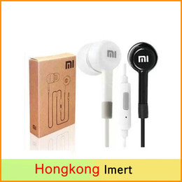 Wholesale Earbuds Mic Remote Mp3 - Free DHL & Xiaomi Earphone for Samsung s5 s4 s3 iPhone 6 5 5s MP3 MP4 Headset with MIC Remote Earbuds for Music Phone