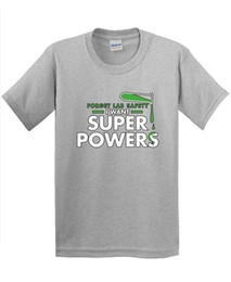 Wholesale Funny Shirt Ideas - Hot New 2017 Summer Fashion T Shirts Forget Lab Safety I Want Super Powers Gift Idea Novelty Science Funny T Shirt