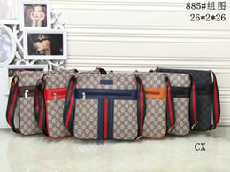 Wholesale Vintage Cross Body - 2018 hot Luxury Handbags Women Bags Designer Brand Famous Shoulder Bag Female Vintage Satchel Bag Canvas beige Crossbody Shoulder Bags