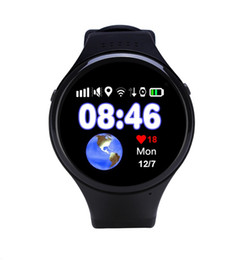 "Wholesale Kid Gps Tracking Watch - GPS Tracking Watch T88 for Children Old Man Smart Watch SOS Emergency 1.22"" Touch Screen Anti-lost WIFI LBS AGPS GPS Watch"
