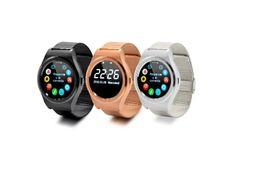 Neueste Edelstahl Bluetooth Smart Uhr K8 MTK 2502 Pulsmesser IPS 1.3 Armbanduhr HD Remote Kamera Für IOS Android von Fabrikanten