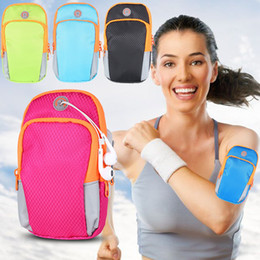 Wholesale Wallets Order - 2017 Armband phone holder bag mobilephone case bag up to 6inch mix order for ourdoor sports running waterproof wrist arm bag free DHl