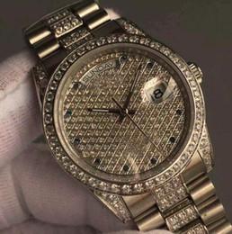 orologi da polso moderni Sconti Classic di lusso automatico Mens Watch moderna Presidente Day-Date diamante Dial orologi lunetta in acciaio inossidabile luminoso Uomini da polso meccanico