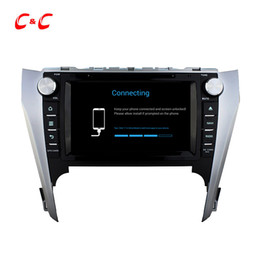 Wholesale toyota camry navigation screen - Quad Core HD 1024*600 Android 5.1.1 Car DVD Play forToyota CAMRY 2012 with GPS Navigation Radio Wifi Mirror link DVR