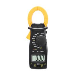 Wholesale Dc Ac Pocket Digital Multimeter - DT3266L AC DC Mini Pocket Handheld Digital Clamp Meter Voltage Current Resistance Tester Multimetro with Test Leads Multimeter