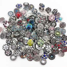 Wholesale Snap Ring Jewelry Making - Newest New 100pcs lots High Quality Metal Snap Button Oem ,odm Random Delivery Ml1001 DIY Jewelry making Fit for necklace bracelet ring
