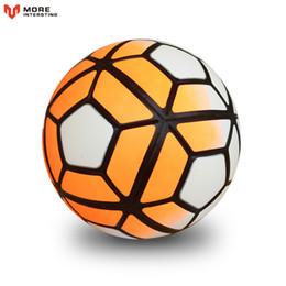 Wholesale Tpu Soccer Ball - Hot Sale 2017Soccer Ball Smileboy Soccer Ball Football Tpu Granules Slip -Resistant Size 5Match Trainning Balls Free Shipping