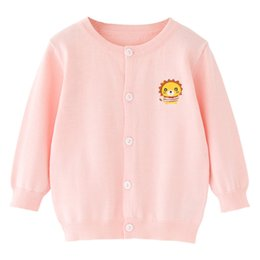 Wholesale Children S Animal Sweater Coats - Children 's sweaters children' s air conditioning shirt baby cardigan spring and autumn sweater coat