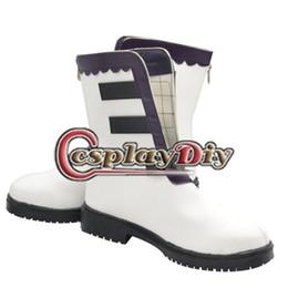 Wholesale Break Boots - Wholesale-Custom Made Xerxes Break Pandora Hearts Cosplay Boots Halloween Shoes D0328
