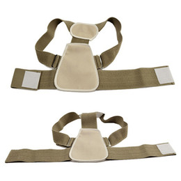 Wholesale Belt Posture - Adjustable Shoulder Support Belt Flexible Posture Back Belt Correct Rectify Posture for Children Back Massager Belt 0613030