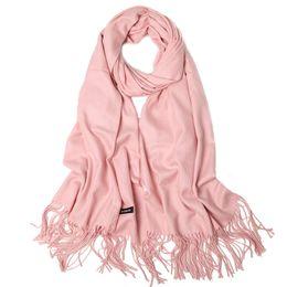 Wholesale Luxury Ladies Dress Prom - Luxury silk pashmina scarf shawl plain brushed scarf shawl for lady prom dresses wedding dresses meet Eu starndard for gift