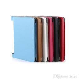 Custodia in pelle pieghevole Folio in PU per tablet in lenovo yoga 2 830f Custodia per armi 830L custodia magnetica da
