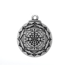 Wholesale Yoga Earrings - My Shape Pendant Jewelry Greet Wealth Hindu Goddess Pendant Tantric Yoga Hindi Pendant for Necklaces Bracelets Earrings