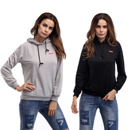 Wholesale China Sweatshirts - made in china 2017 casual style slim simple pullover autumn winter long sleeve sweatshirt for lady