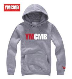 Wholesale Hoodies Ymcmb - 2017 Fashion Brand Sweatshirts Men ymcmb Hoodies Printing Men'S hip hop Sportswear Sport Suit Men Coat The Size 3XL