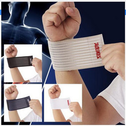 Wholesale carpal wrist brace - fitness cotton strength bandage hand wrist straps sport wristbands support wrist protector carpal tunnel wrist brace gym wraps