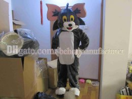 Wholesale Mouse Jerry Costume - Tom and Jerry mascot costume high quality free shipping brown plush cat and mouse, Lovely Tom - Jerry mascot adult type discount.