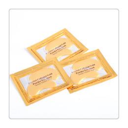 Wholesale Gel Sheet Mask - PILATEN Crystal Eye Mask Care 24K Gold Collagen Crystal Eye Masks Patches Sheet Moisturizing Eye Cream Free Shipping