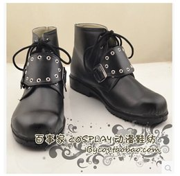 Женская обувь онлайн-Оптовая-бесплатная доставка! Горячая Распродажа! Final Fantasy VIII шквал косплей обувь Cos обувь профессиональный ручной работы!