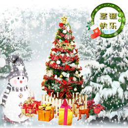 Wholesale christmas tree decorations luxury - Christmas decorations  1.5 meters Christmas tree set  150cm luxury encryption Christmas supplies lantern manual Well done!