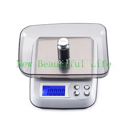 Wholesale Digital Jewellery Balance - 500G 0.01g LCD Table Jewellery Scale Household Kitchen Scales for Food Electronic Postal Balance Weight Digital Precise 0.01G