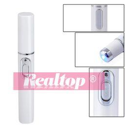 Wholesale Light Therapy Pen - 2016 Blue Light t acne therapy machine Acne Laser Pen Soft Scar Wrinkle Removal Treatment acne pen, Blue light Ance instrument Big Promotion