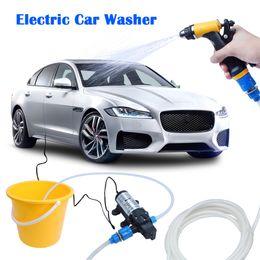 Wholesale Machine Water Pump - High Pressure Electric Car Wash Washer Water Pump 12V Car Washer Washing Machine Cigarette Lighter EXPRESS Shipping
