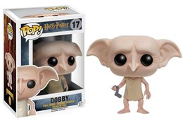 Wholesale Harry Potter Action Figures Wholesale - Funko POP Cartoon Movies Harry Potter Severus Snape Vinyl Action Figure With Retail Box High Quality Dobby Doll Toys