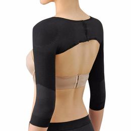 Wholesale Women Bodysuits Fashion - Wholesale-Women Fashion Arm Shaper Back Shoulder Corrector Slimming Weight Loss Arm Shaper Lift Shapers Massage Arm Control Shapewear