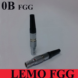 Wholesale Males Sounding Devices - LEMO connector FGG 0B 2 3 4 5 6 7 9 Pin Connector 0B Male Plug For SOUND DEVICES ZAXCOM DENECKE TIME CODE