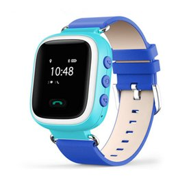 Wholesale Sos Devices - Q60 Kid GPS Smart Watch Wristwatch SOS Call Location Finder Locator Device Tracker for Kid Safe Anti Lost Monitor Baby Gift Q50