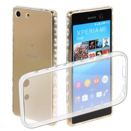 Wholesale Tpu Case For Sony M5 - For Sony Z5 Mini M5 Ultra Thin Quality Transparent Soft Plastic TPU Silicone Soft Case Cover