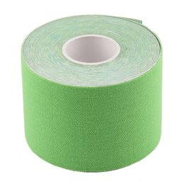 Wholesale Family Stickers Cars - 5 Colors 5cm x 5m Sports Muscle Stickers Tape Roll Cotton Elastic Adhesive Muscle Bandage Strain Injury Support free shipping