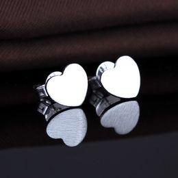Wholesale Animal Geometry - 100Pcs Lot 2016 Classic Trendy Women Geometry Earrings 925 Sterling Silver Fashion Jewelry Brand New Lovely Stud Earrings Hot Sales