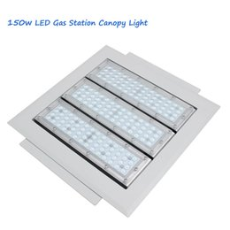 Wholesale Led Low Bay Lighting - 90w 120w 150w Gas Station lighting Led Low Canopy light industrial factory high bay Meanwell driver Osram Chips 90-277V 120lm W